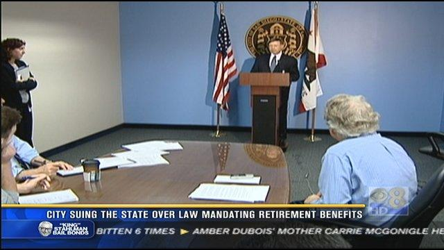 San Diego files suit against state over Social Security benefits