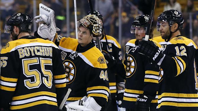 Despite NHL's best record, Bruins done for season