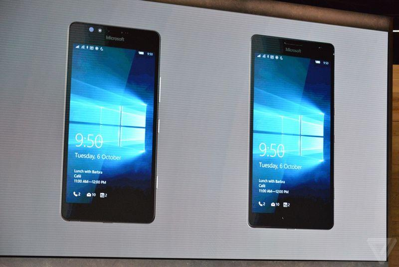 Microsoft Lumia 950XL with 5.7-inch display and liquid cooling announced for $649