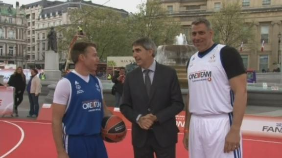 Football stars light up Euroleague