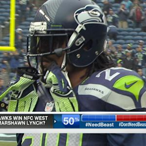 Do the Seattle Seahawks need running back Marshawn Lynch to win the NFC West?
