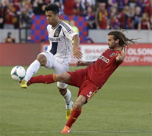 Galaxy coast to 2-0 victory over Real Salt Lake