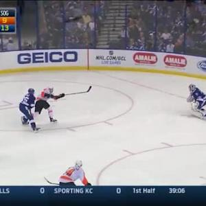Ben Bishop Save on Michael Raffl (10:15/2nd)