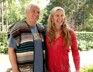 Garry Marshall and Daryl Hannah in Miramax's Keeping Up with the Steins