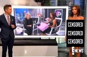 'E! Newd'? A Naked Giuliana Rancic Surprises Viewers During Broadcast (Video)