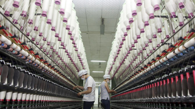 Survey finds China manufacturing hits 2-year high