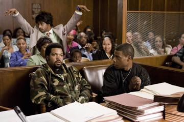 Katt Williams , Ice Cube and Tracy Morgan in Sony Pictures' First Sunday