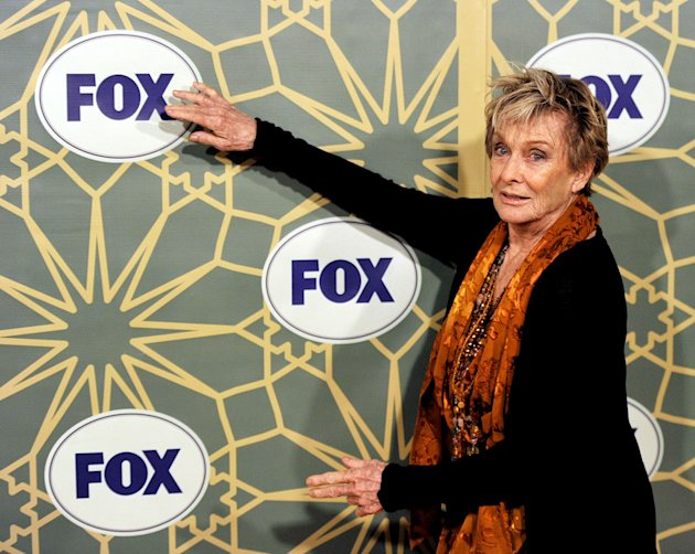 "Cloris Leachman (""Raising Hope"") attends the 2012 Fox Winter TCA All-Star Party at Castle Green on January 8, 2012 in Pasadena, California."