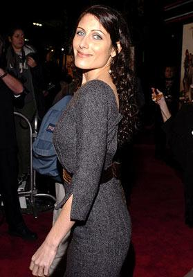 Premiere: Lisa Edelstein at the Hollywood premiere of MGM's Be Cool - 2/14/2005