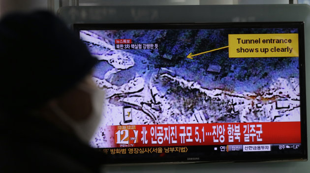 South Korea confirms North Korean nuclear test