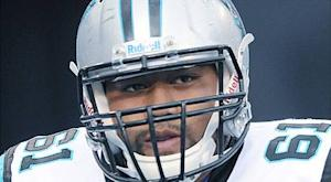 Early reality check for Panthers O-line