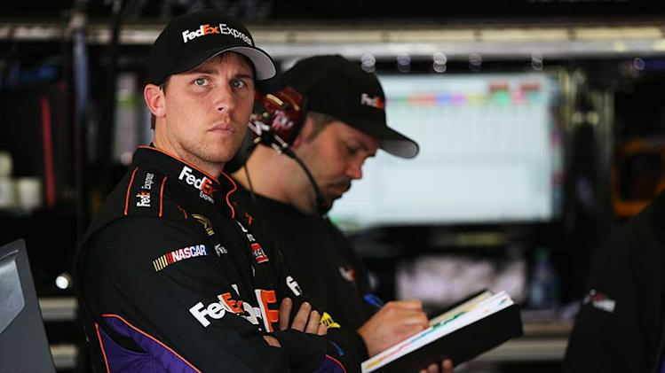 NASCAR statement regarding Denny Hamlin penalty