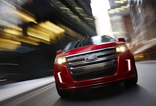 Reviewers Say The  Ford Edge Has A Stylish Exterior Design And An Interior Thats Easy On The Eyes Reviewers Also Like The Edges Fuel Economy When
