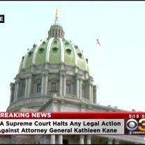 Pa. High Court Halts Any Action Against AG Kane