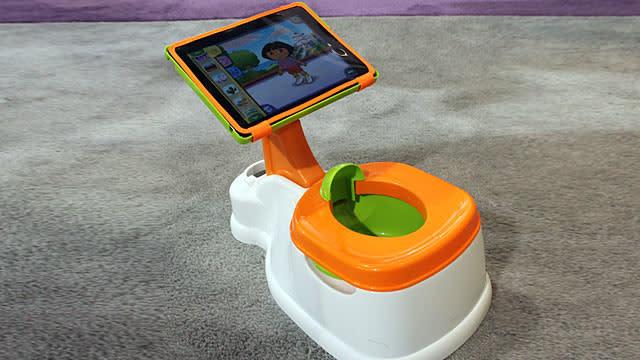 iPotty: iPad Hits Potty Training