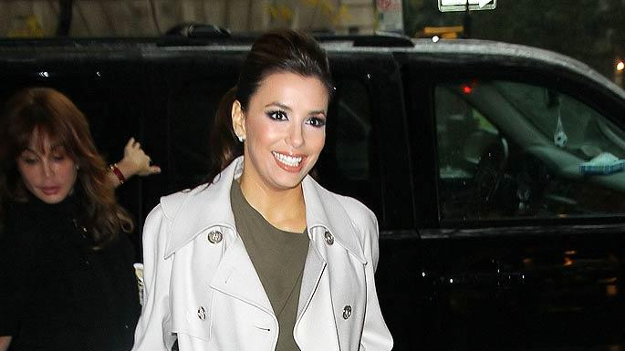 Eva Longoria Shopping In New York