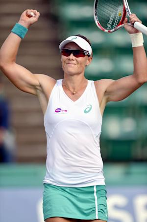 Stosur beats Bouchard to win Japan Women's Open