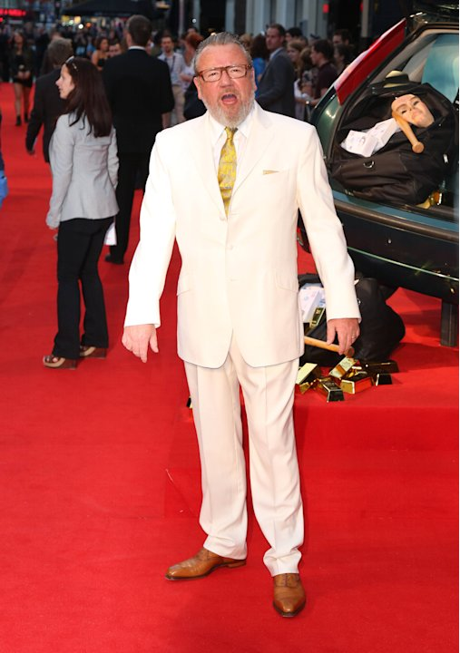 Ray Winstone The Sweeney UK film premiere held at the Vue cinema - arrivals London, England - 03.09.12     Mandatory Credit: Lia Toby/WENN.com