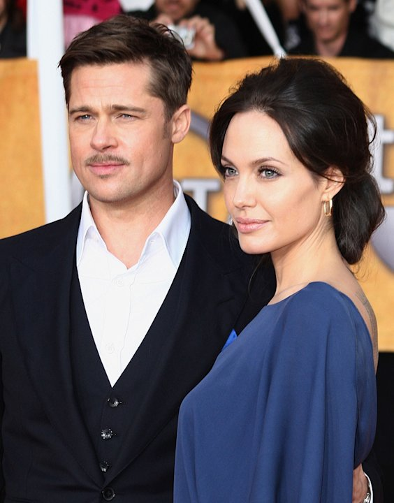 SAG Awards 2009 Brad Pitt Angelina Jolie