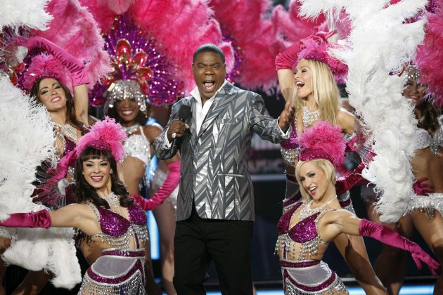Host Tracy Morgan speaks onstage during the Billboard Music Awards at the MGM Grand Garden Arena in Las Vegas