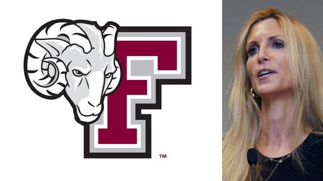 Fordham University bans Ann Coulter