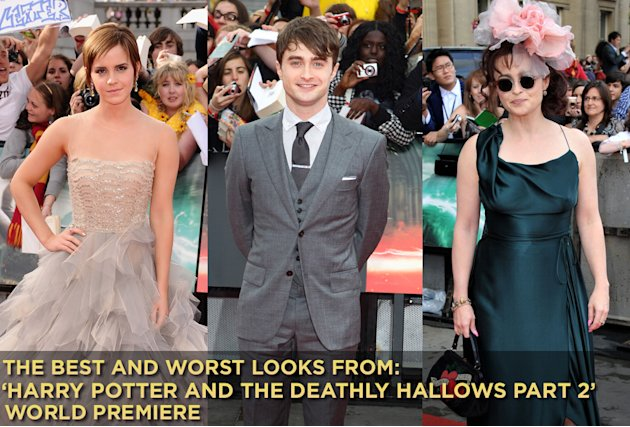 Harry Potter deathly Hallows part 2 premiere title card