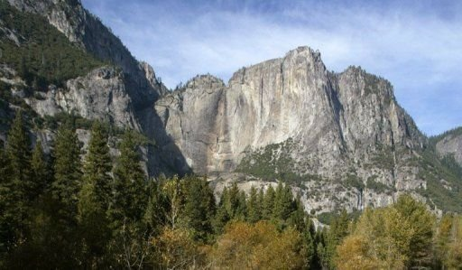 Le parc national de Yosemite, aux Etats-Unis, en octobre 2003