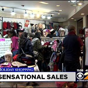 Shoppers Head Out To Make Returns, Cash In On Deals