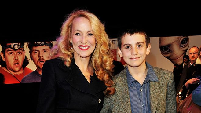 Paul UK premiere 2011 Jerry Hall