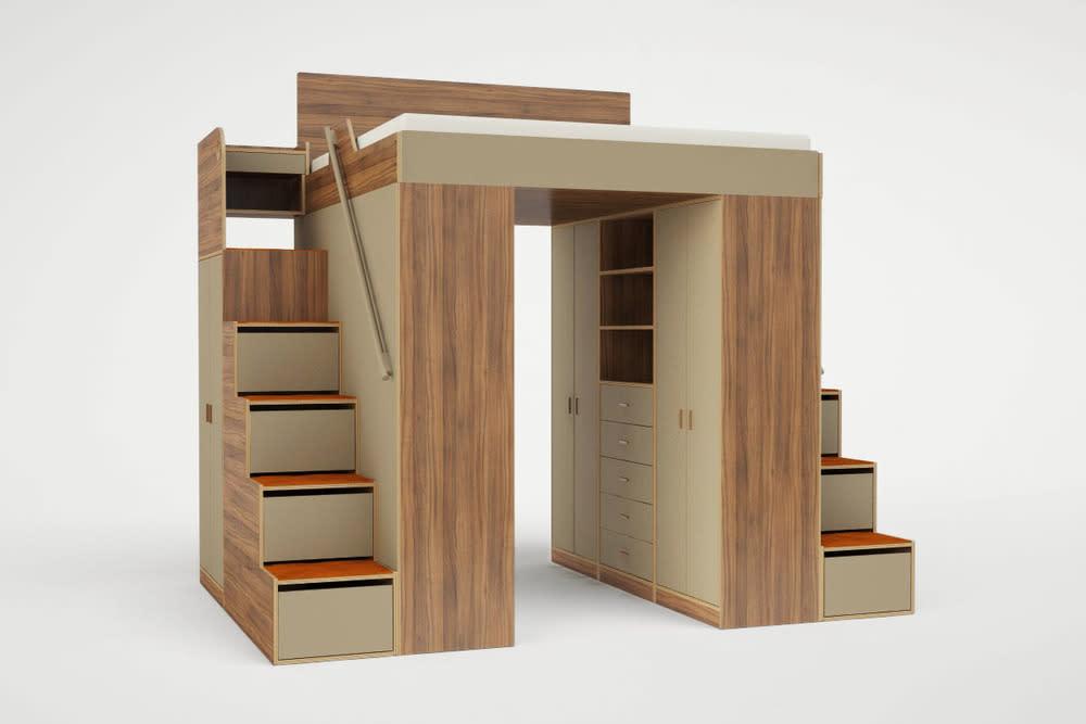 Better Than a Murphy Bed? Loft Beds for Grown-Ups