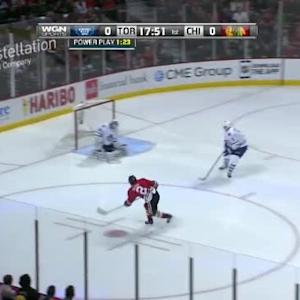 James Reimer Save on Duncan Keith (02:11/1st)