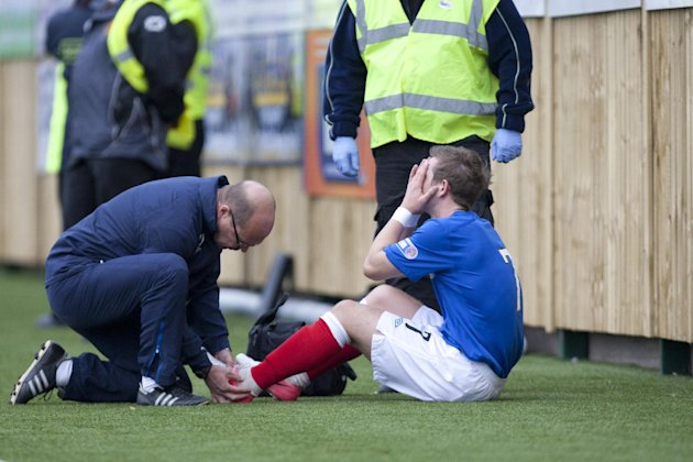 David Templeton has been sidelined with an ankle injury