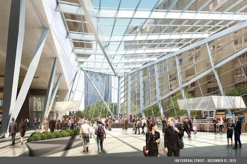 Financial District's 100 Federal Could Get a Winter Garden