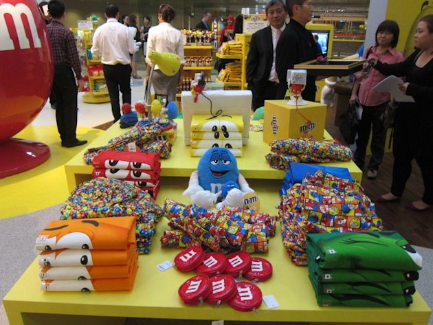 Sweet treats galore at Changis new M&Ms store 9