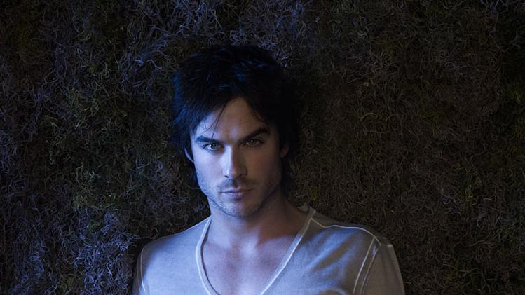 "Ian Somerhalder stars as Damon in ""The Vampire Diaries."""