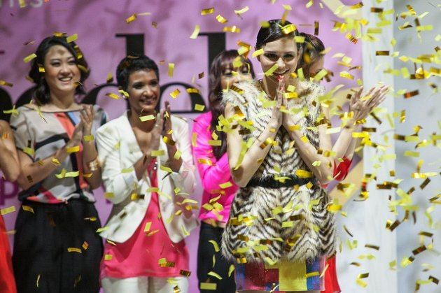 Thai Jessica Amornkuldilok bested 12 other models to clinch the winning title (Star World)