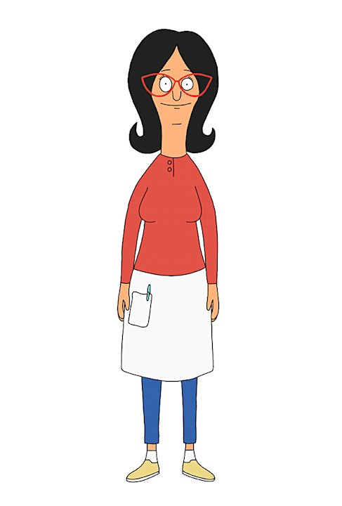 "Linda Belcher (voiced by John Roberts) on ""Bob's Burgers."""