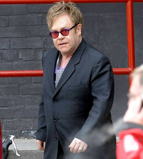 Elton John Hospitalized for&nbsp;&hellip;