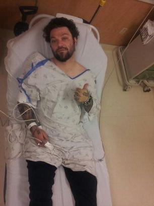 Bam Margera Hospitalized After Kayak Stunt