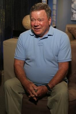 William Shatner stops by Access Hollywood Live on July 20, 2011 -- Access Hollywood
