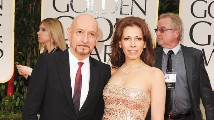 Ben Kingsley and wife Daniela Lavender