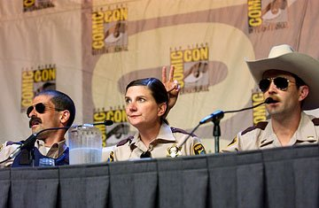 Ben Garant, Kerri Kenney and Thomas Lennon