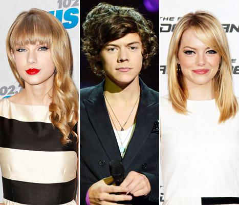 Taylor Swift Makes Out With Harry Styles, Introduces Him to BFF Emma Stone