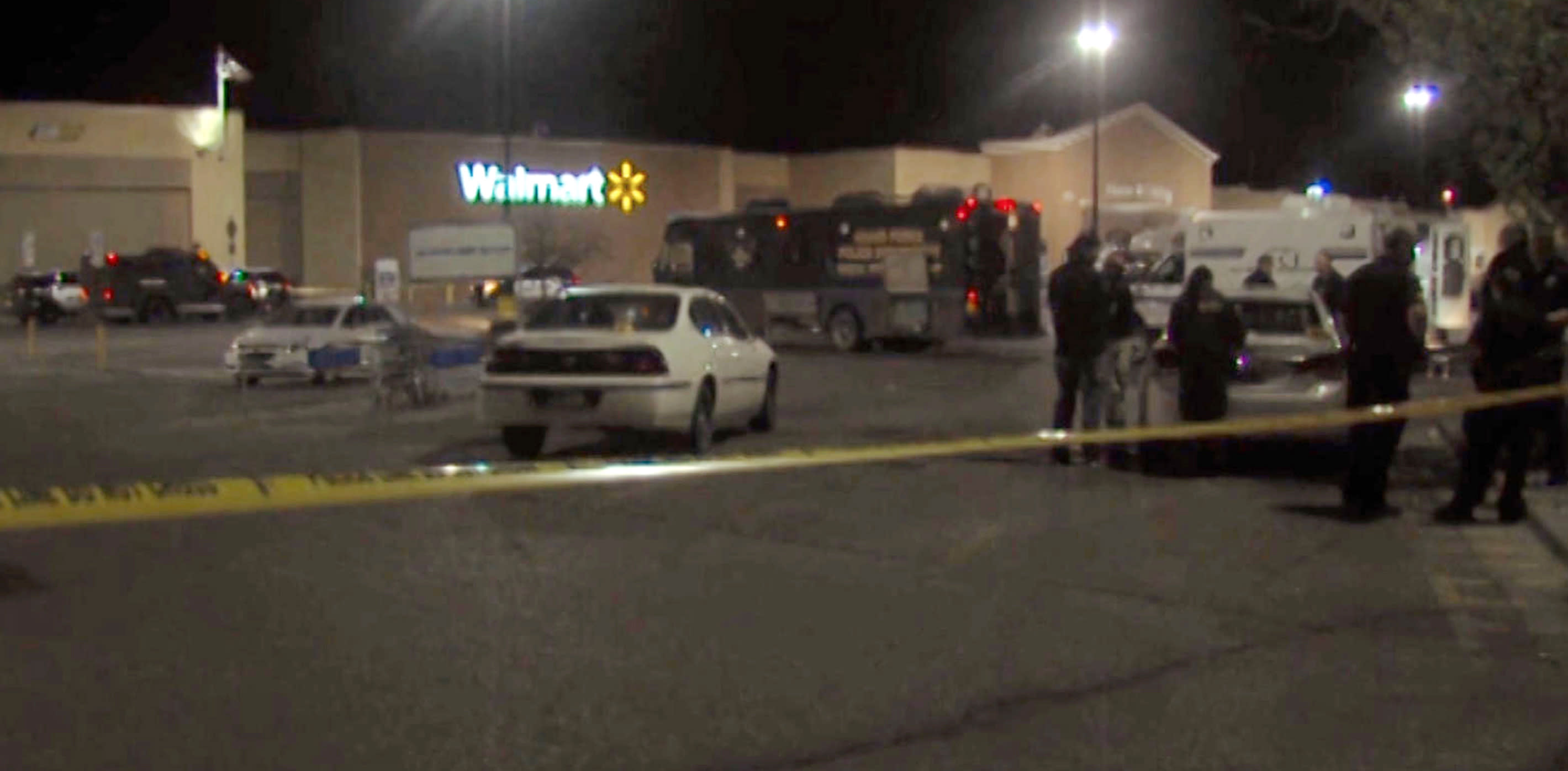 Police: Pair who rode with Wal-Mart gunman didn't know plan