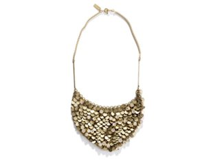 Madewell Moonlight Sparkle Bib Necklace