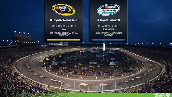 How to follow Richmond Cup, Nationwide races