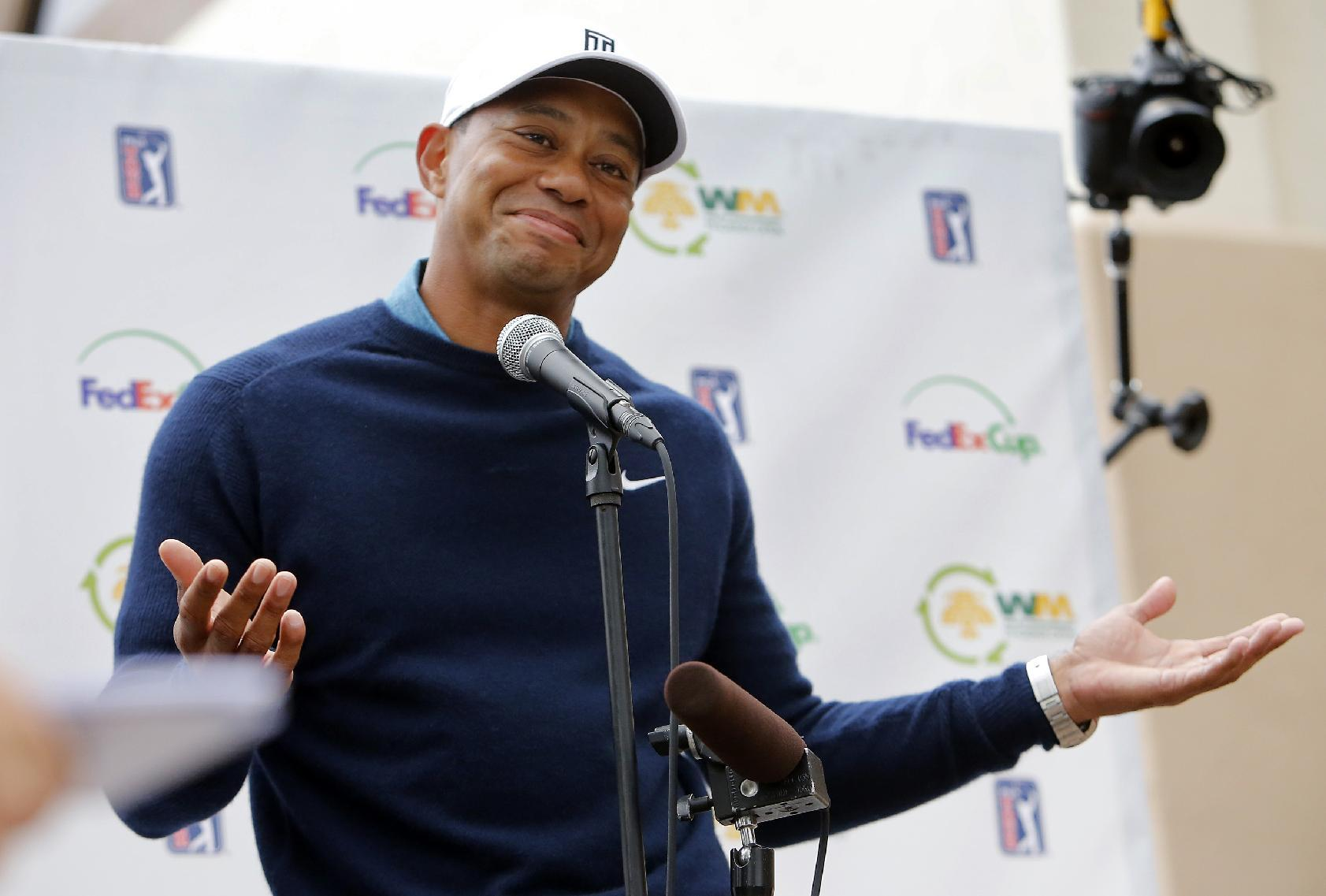 Tiger talks missing tooth, rediscovered power ahead of Phoenix Open