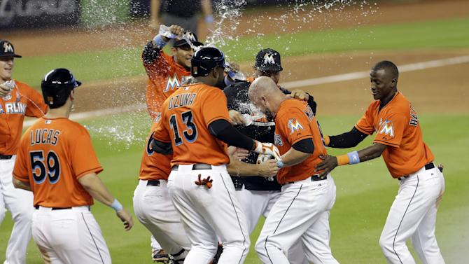 McGehee leads Marlins past Pirates 3-2