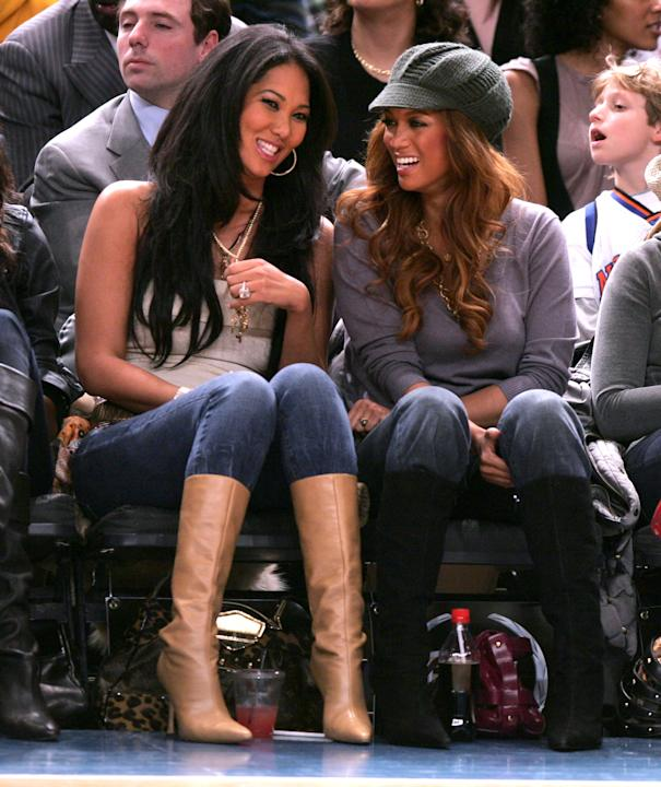 Kimora Lee Simmons and Tyra Banks