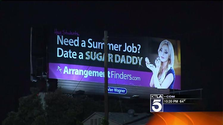 Sexually Suggestive Billboard Creates Controversy Near College Campus